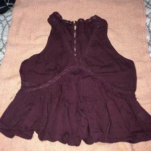 Purple blouse!!